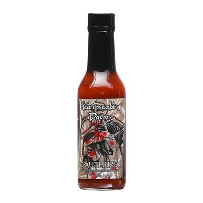 Heartbreaking Dawn's Cauterizer Trinidad Scorpion Hot Sauce