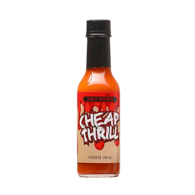 Cheap Thrill Garlic Habanero Hot Sauce