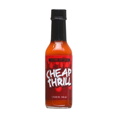 Cheap Thrill Cayenne Hot Sauce