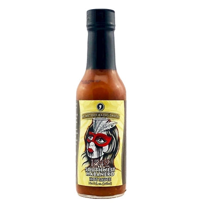 Heartbreaking Dawn's 1542 Southwestern Habanero Hot Sauce