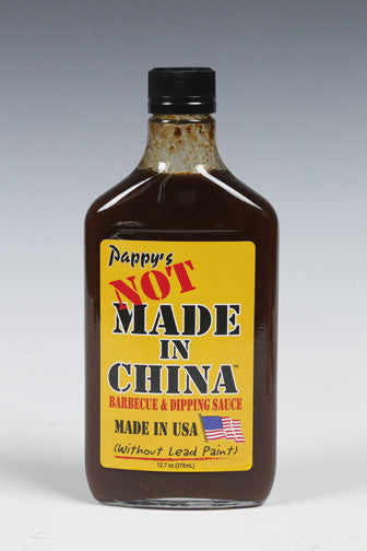Not Made in China Barbecue Sauce