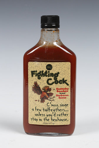 Fighting Cock Kentucky Bourbon BBQ Sauce GALLONS