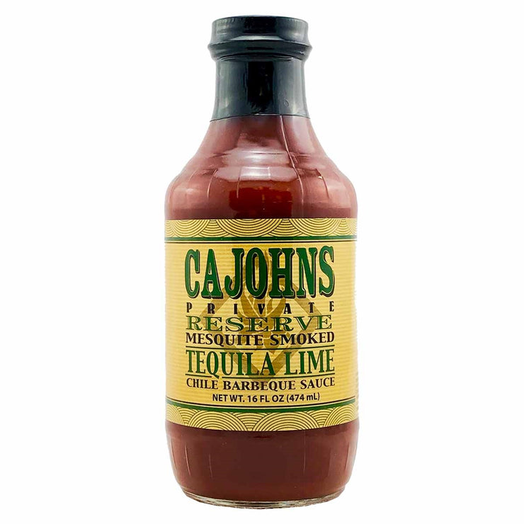 Cajohn's Tequila Lime Barbecue Sauce