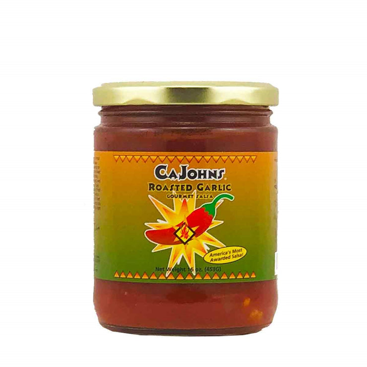 Cajohns Roasted Garlic Gourmet Salsa