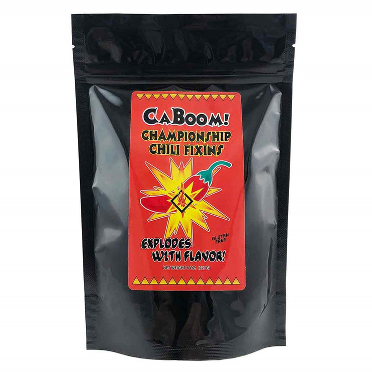Caboom Chili Fixins