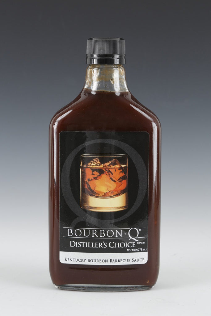 NEW PRODUCT!!  BourbonQ Distiller's Choice Barbecue Sauce