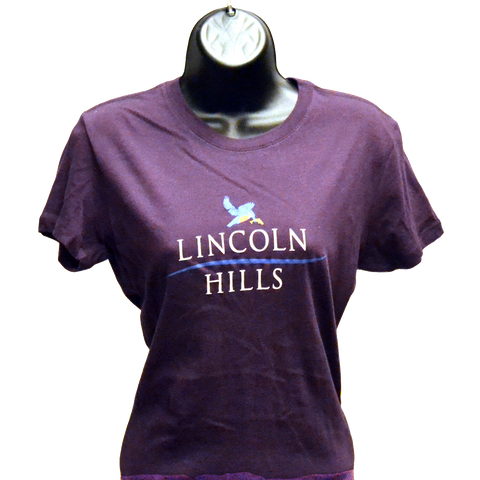 T-Shirt- Women's Short Sleeve (LH) Purple