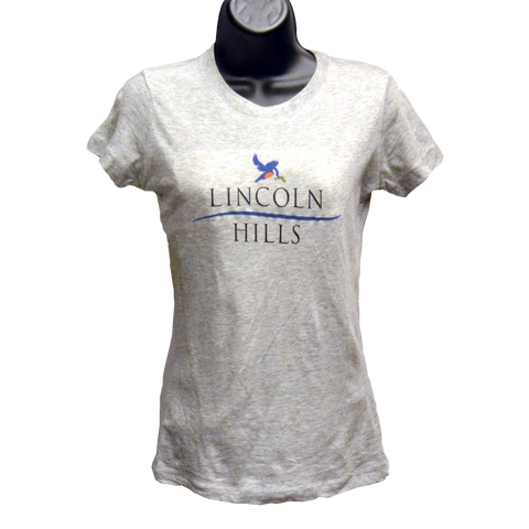 Women's Short Sleeve Tissue Tshirt (LH) HEATHER