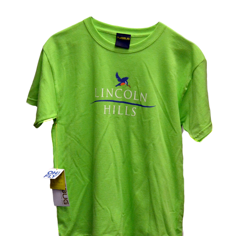 T-Shirt - Youth Short Sleeve Tshirt (LH) LIME