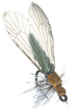 Superflies: Caddis Adult - Saffron Green