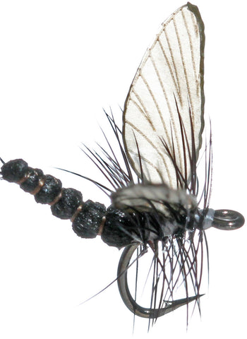 Superflies: Mayfly Dun - Onyx Black