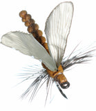 Superflies: Mayfly Dun - Cinnamon Brown