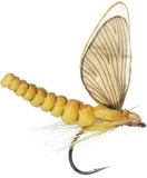 Superflies: Mayfly Dun - Sulphur Yellow