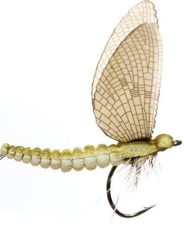 Superflies: Mayfly Dun - Yellow