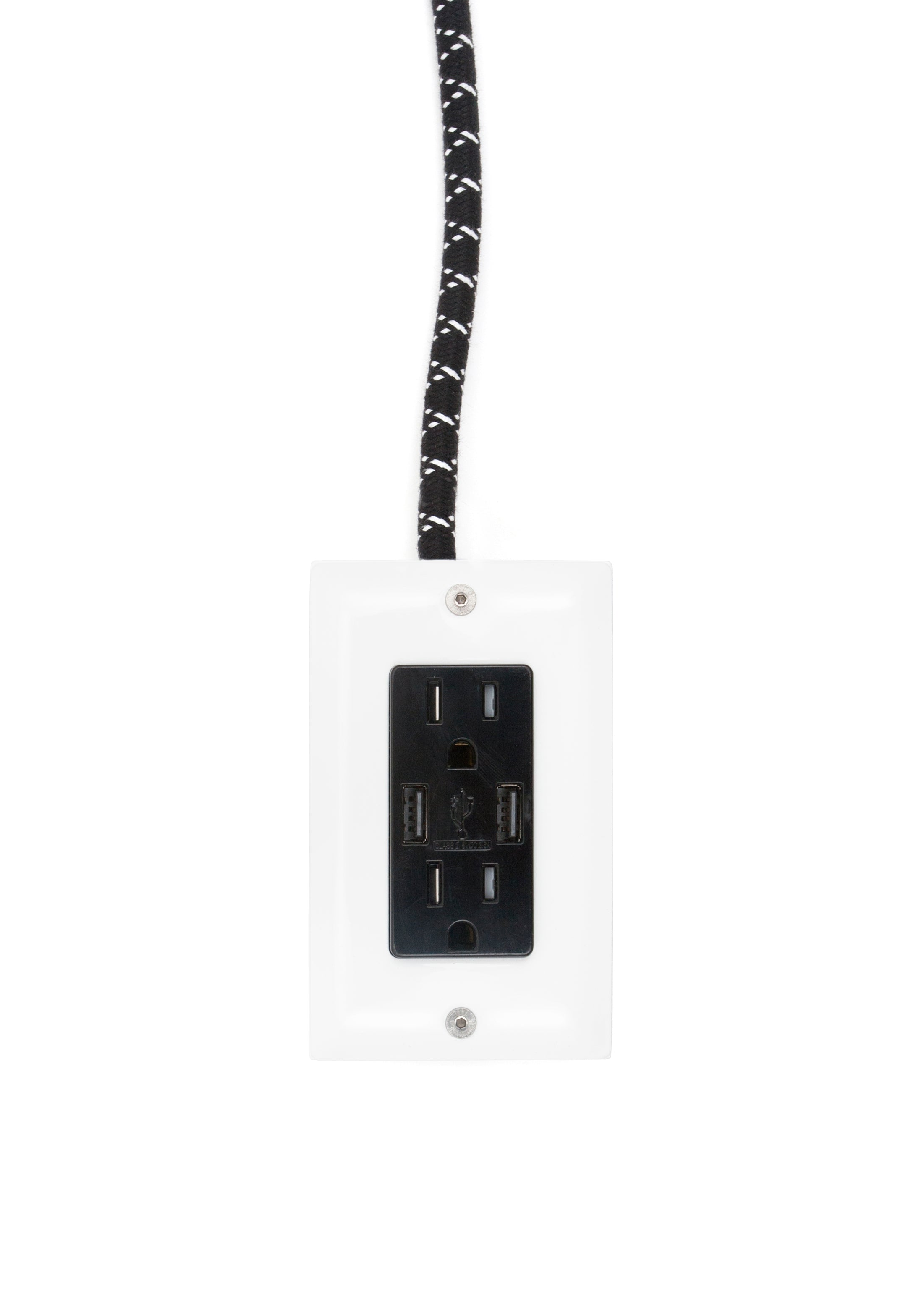 12 Ext Usb The First Smart Chip Extension Cord Conway Bling Switch Wiring Diagram Dual Outlet Ac Dc