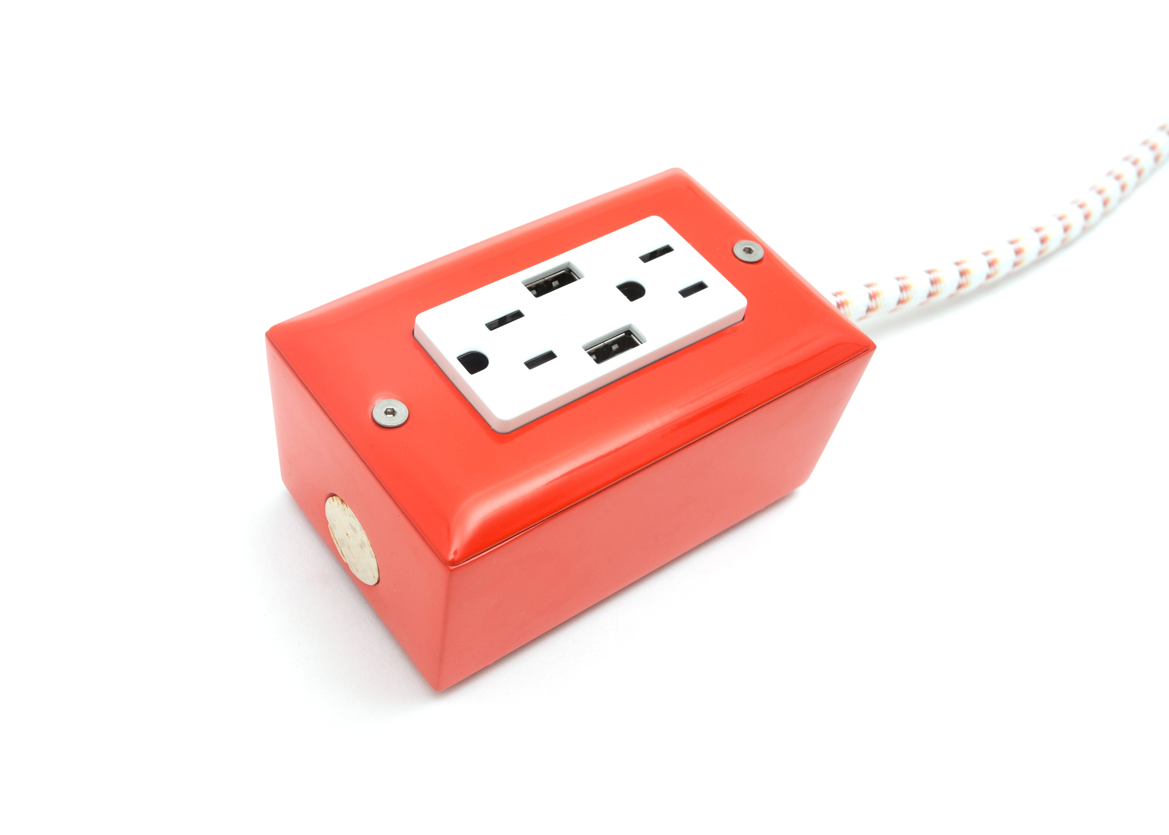 12 Ext Usb The First Smart Chip Extension Cord Conway Orange Wiring Diagram Dual Outlet Venice