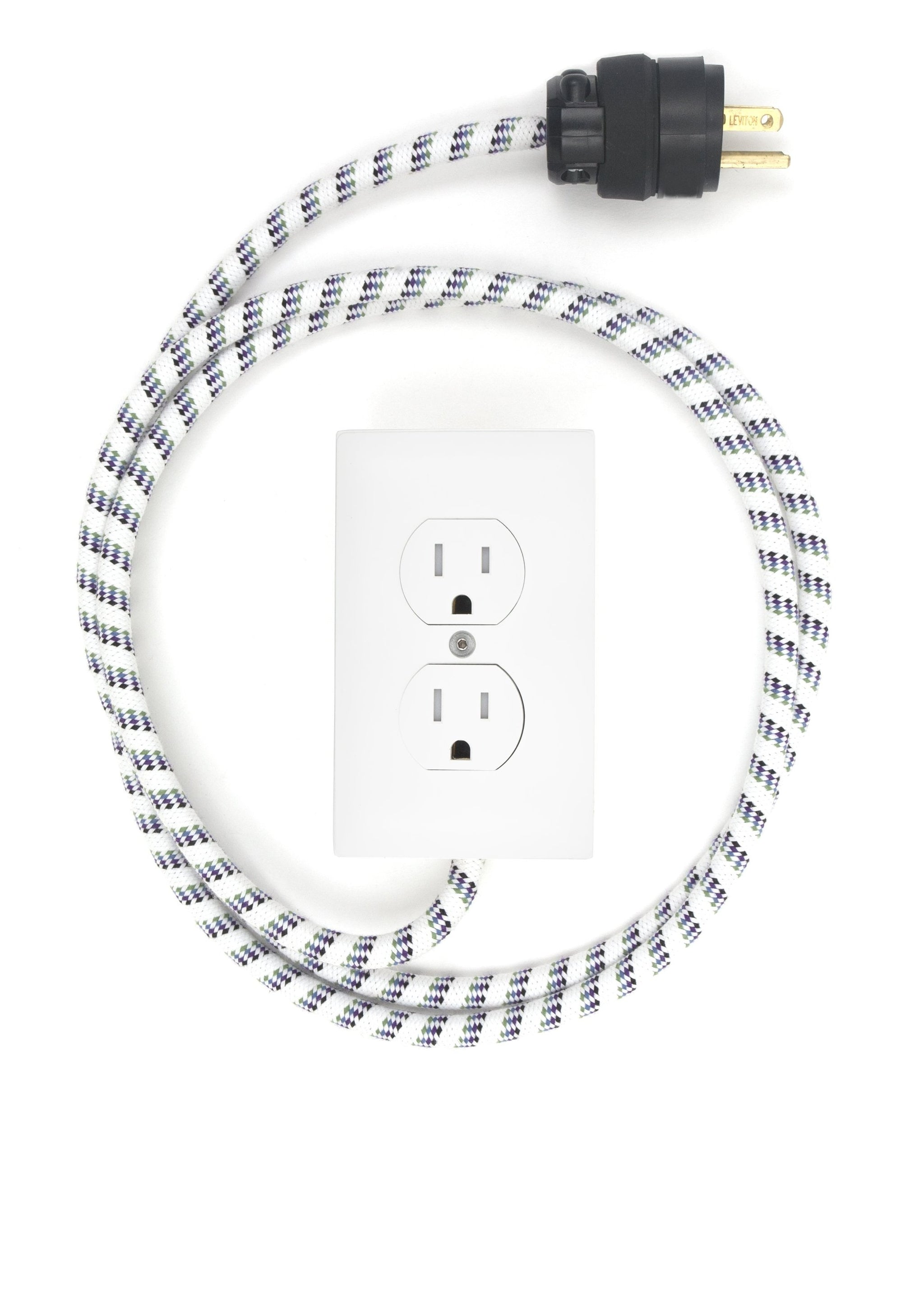 New! Extō Surf's Up - A Modern Dual-Tamper-Resistant Outlet, 15-AMP Extension Cord