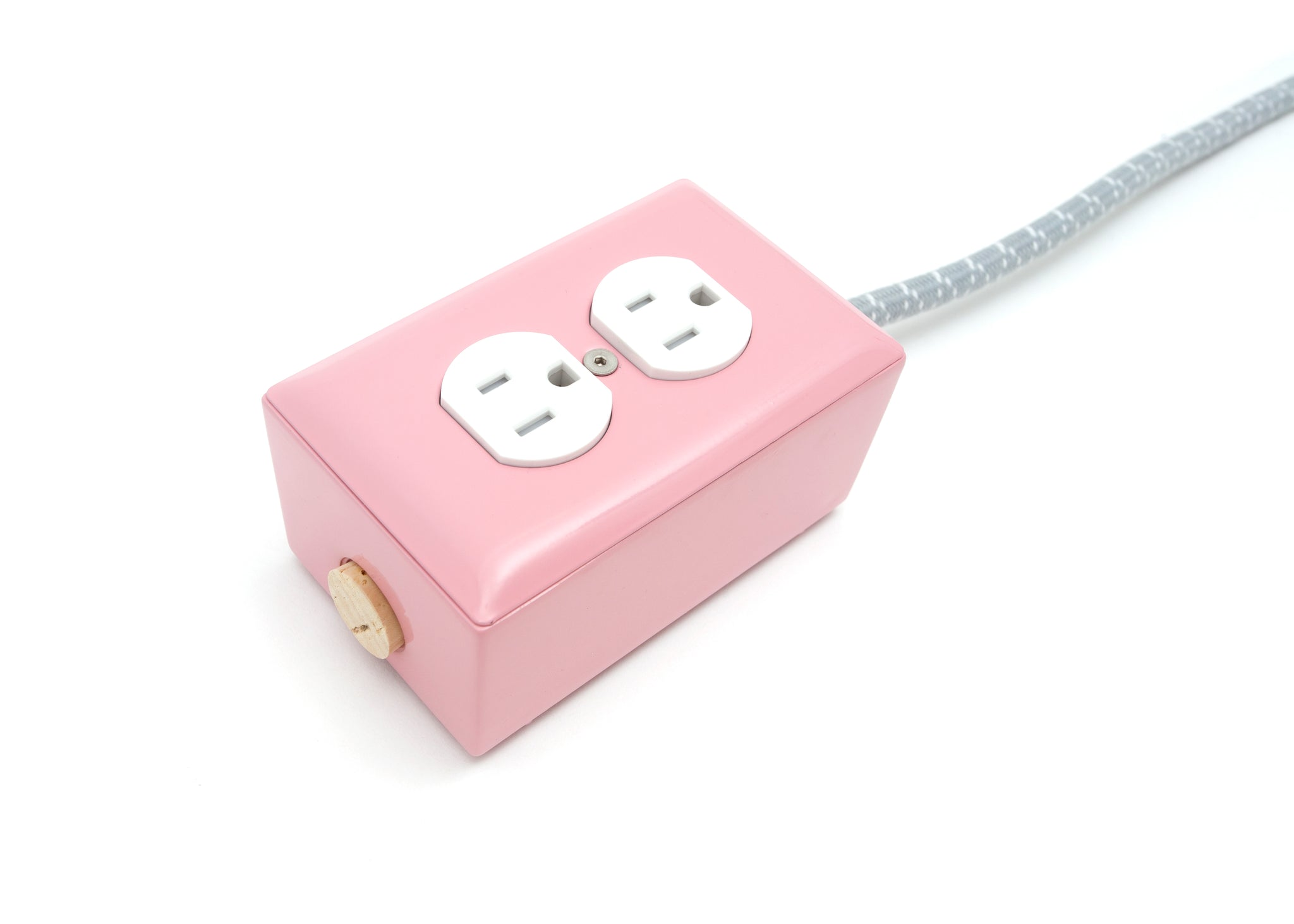 Extō Candy Pink Dual-Outlet Extension Cord for Nordstrom - A Modern Dual-Tamper-Resistant Outlet, 15-AMP Extension Cord