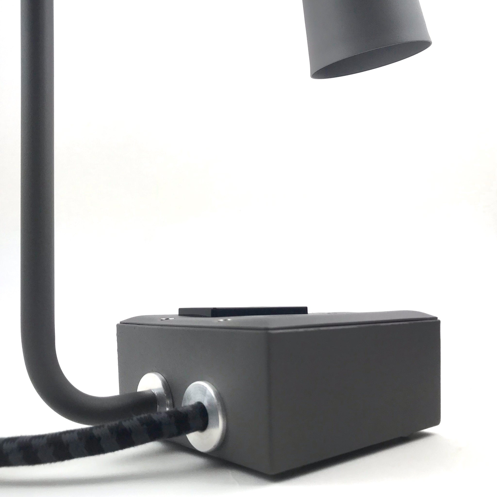 JAX Touch Smart USBC Task Lamp Humboldt Fog Gray