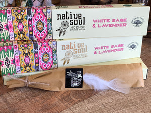 White Sage and Lavender ~ Native Soul Incense
