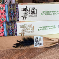 Sweetgrass and Yerba Santa ~ Native Soul Incense