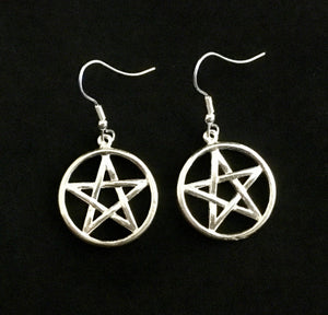 Pentacle Earrings