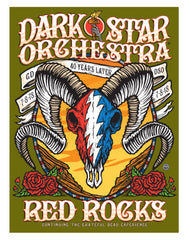 2018 DSO Red Rocks Event Sticker