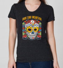 Dark Star Orchestra® Ladies Sugar Skull T-Shirt