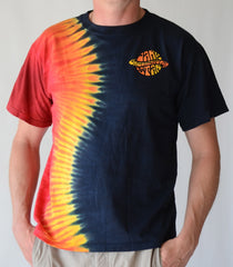 Dark Star Orchestra® Half/Half Dye with Saturn Logo T-Shirt