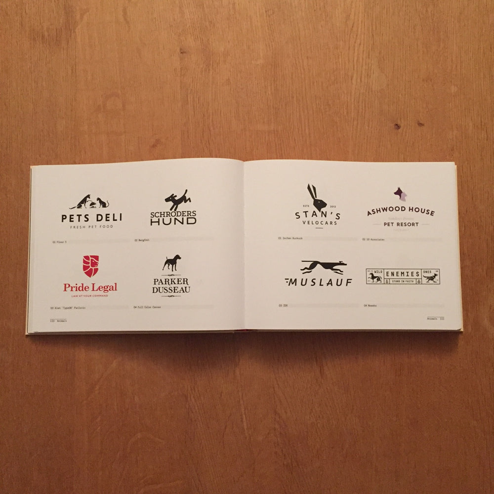 Parker Dusseau Logo Featured in Gestalten Press Los Logos No. 7