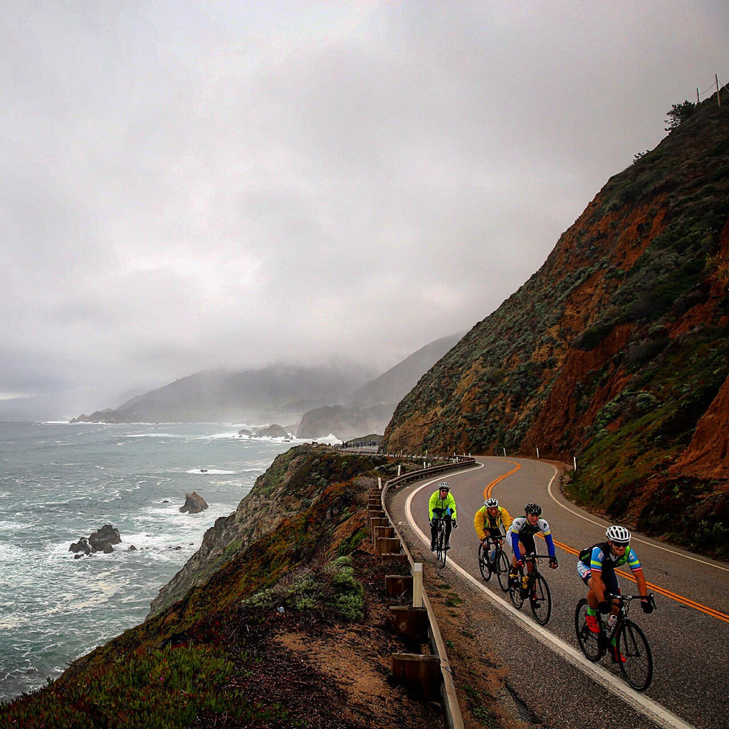 California coast cycling