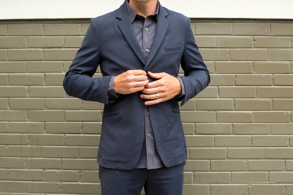 Parker Dusseau Fall 2014 Lookbook - Commuter Blazer, Commuter Chino and Commuter Dress Shirt