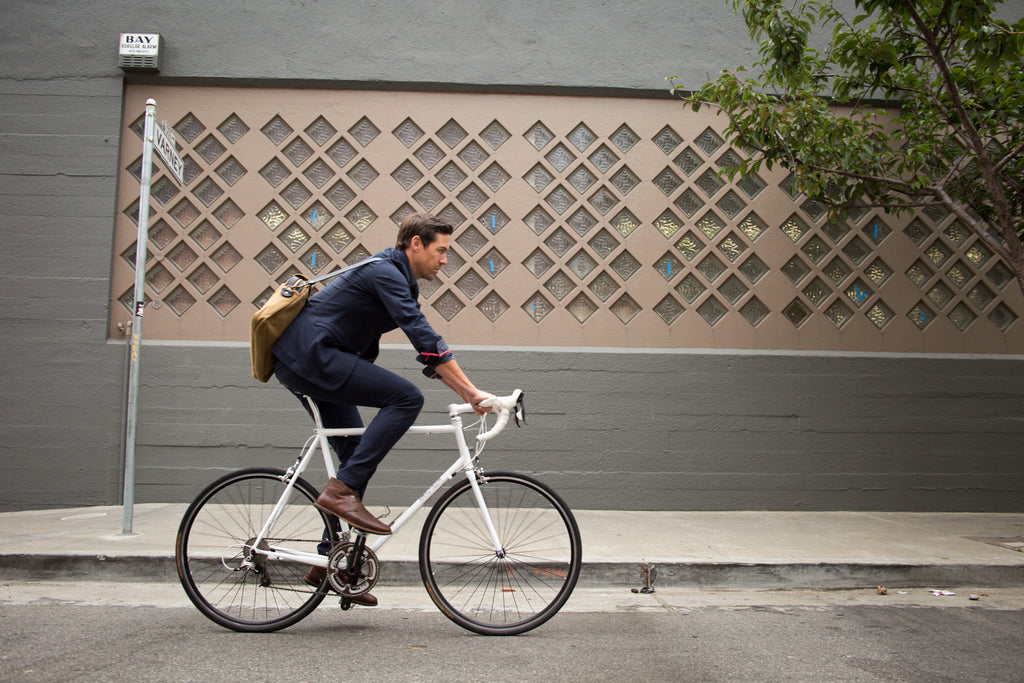 Parker Dusseau Fall 2014 Lookbook - Commuter Blazer and Chino