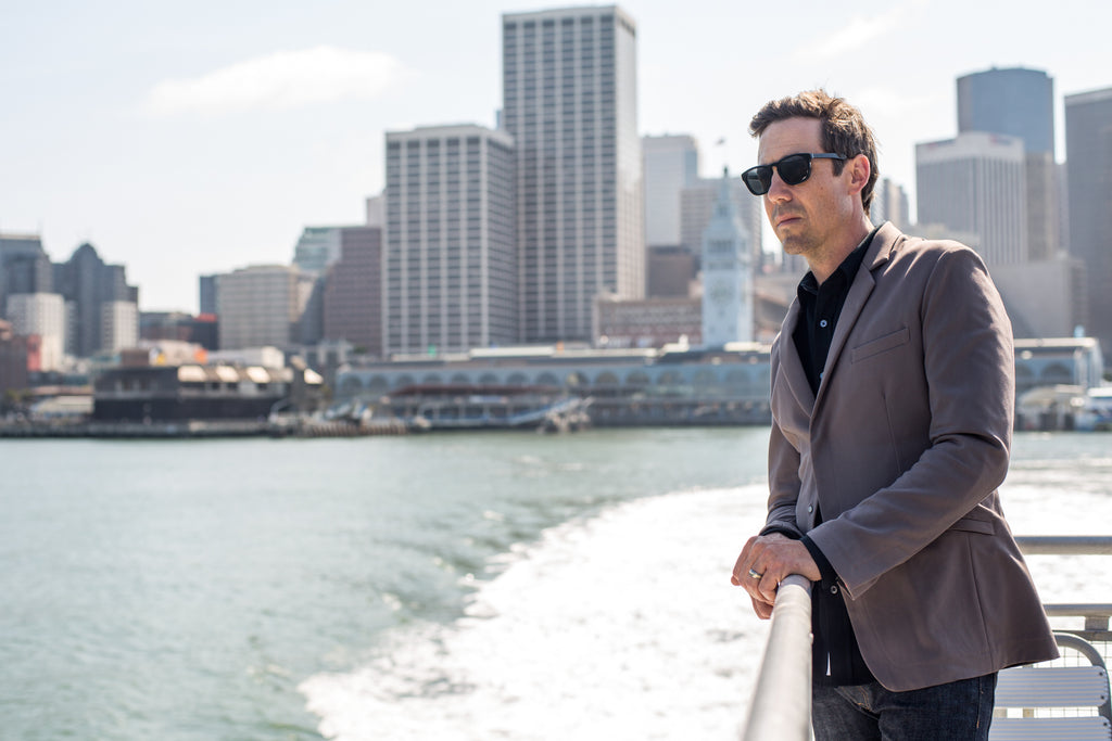 Parker Dusseau Fall 2014 Lookbook - Commuter Blazer and 100% Merino Classic Workshirt
