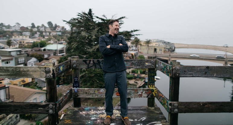 Parker Dusseau Functional Menswear Essentials Jeremiah Kille Artist Santa Cruz San Francisco Cyclist