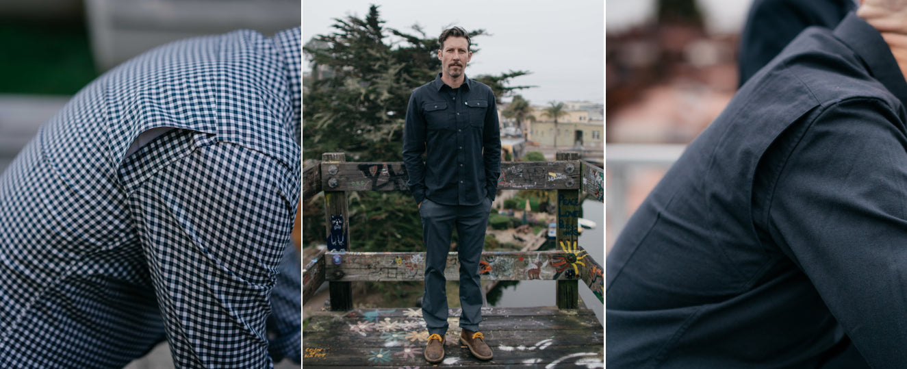 Parker Dusseau Functional Menswear Essentials San Francisco Men's Apparel