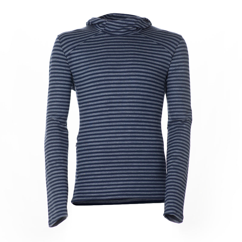 Architec Carson Hoodie - Monaco Stripe Long Sleeve Merino Tee- Parker Dusseau : Functional Menswear Essentials for the Always Ready Lifestyle. Based in San Francisco, California