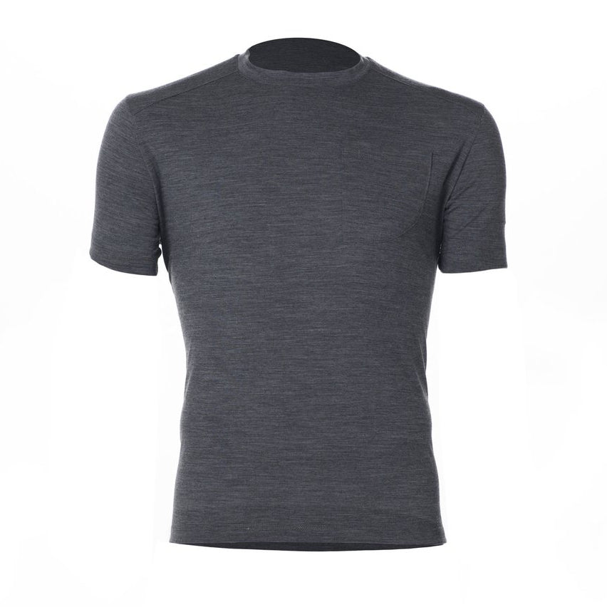 ArchiTec Tasman Merino Tee - Abyss Short Sleeve Merino Tee- Parker Dusseau : Functional Menswear Essentials for the Always Ready Lifestyle. Based in San Francisco, California