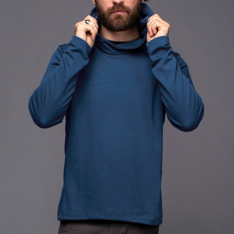 ArchiTec Carson Hoodie - Moonlit Ocean Long Sleeve Merino Tee- Parker Dusseau : Functional Menswear Essentials for the Always Ready Lifestyle. Based in San Francisco, California