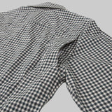 Five Day Wool / Cotton Button Up - Forrest Green Gingham Check Dress Shirt- Parker Dusseau : Functional Menswear Essentials for the Always Ready Lifestyle. Based in San Francisco, California
