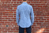 Classic Work Shirt - Indigo Chambray Work Shirt- Parker Dusseau : Functional Menswear Essentials for the Always Ready Lifestyle. Based in San Francisco, California