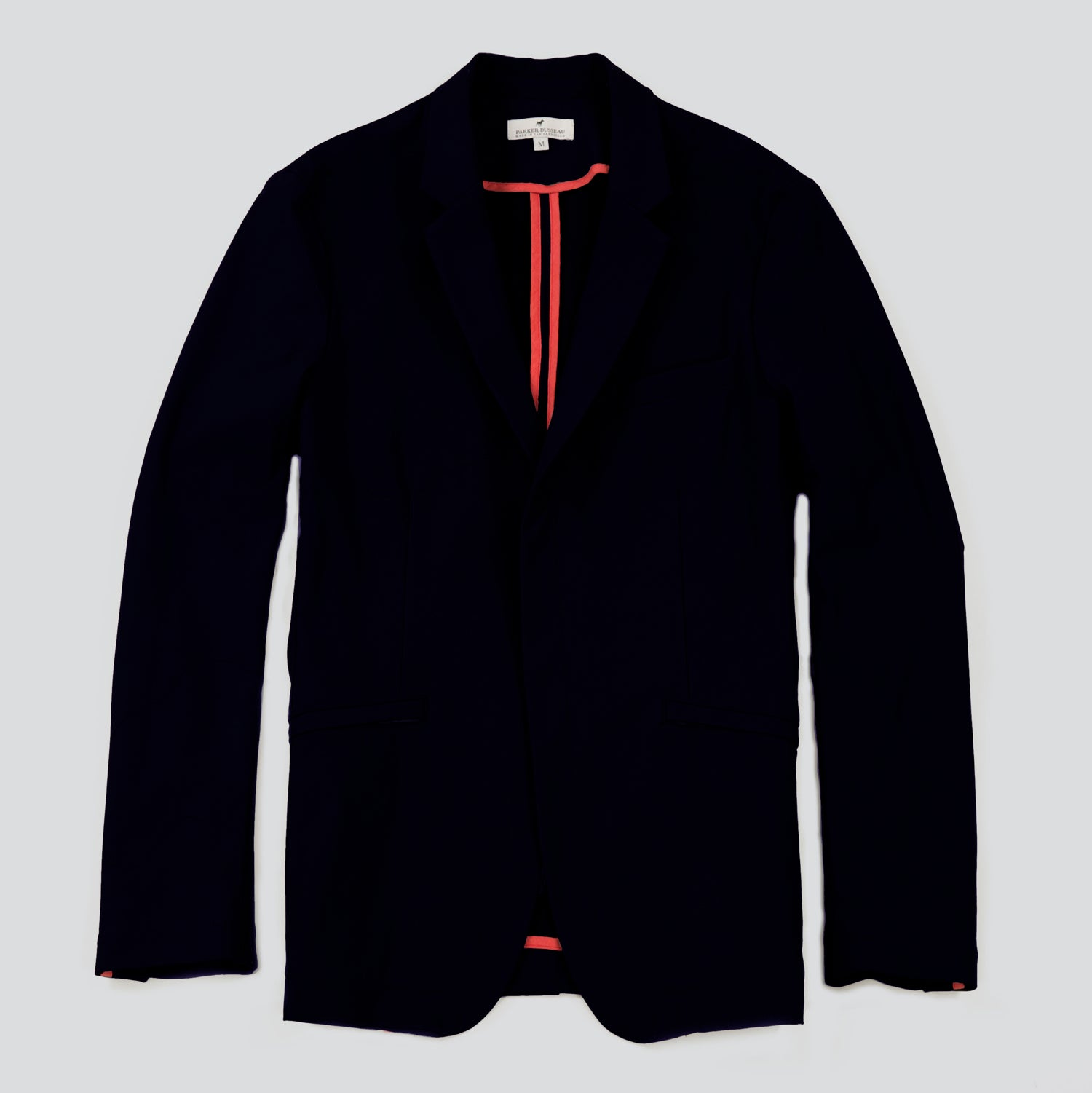Utility Travel Blazer - Navy Blazer- Parker Dusseau : Functional Menswear Essentials for the Always Ready Lifestyle. Based in San Francisco, California