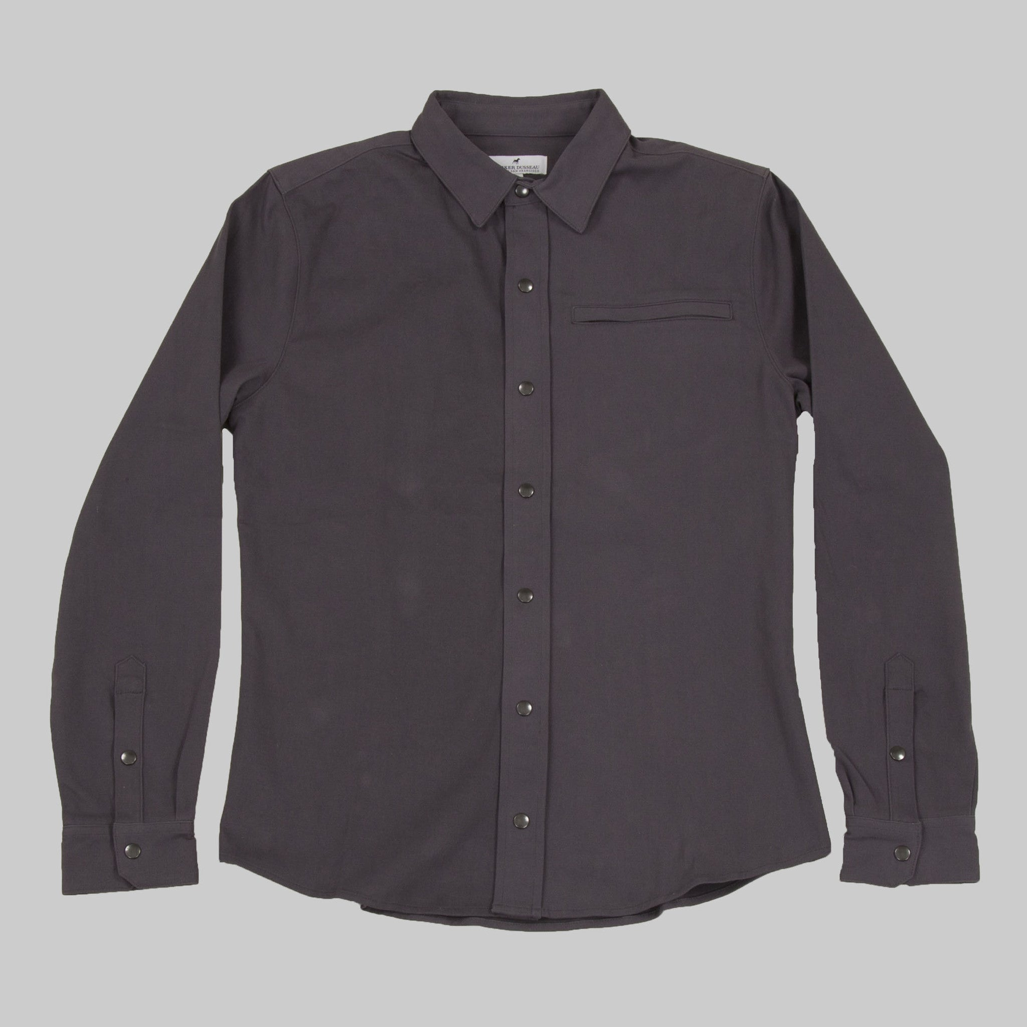 Seadrift Nanosphere Overshirt - Fog Overshirt- Parker Dusseau : Functional Menswear Essentials for the Always Ready Lifestyle. Based in San Francisco, California