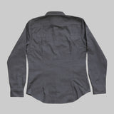 Five Day Wool / Cotton Heavyweight Work Shirt - Charcoal Work Shirt- Parker Dusseau : Functional Menswear Essentials for the Always Ready Lifestyle. Based in San Francisco, California