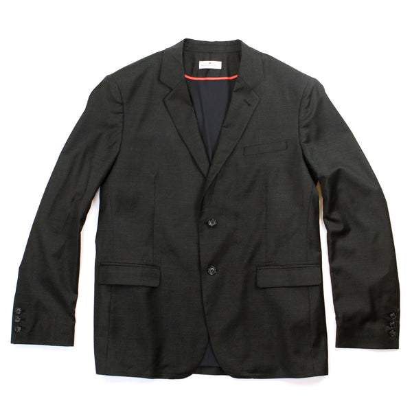 Merino Commuter Suit Jacket - Charcoal