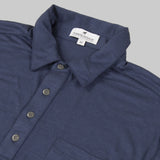 Merino Wool Short Sleeve Polo Shirt - Navy Polo Shirt- Parker Dusseau : Functional Menswear Essentials for the Always Ready Lifestyle. Based in San Francisco, California