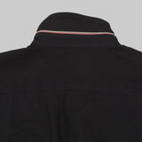 Five Day Wool / Cotton Heavyweight Work Shirt - Black Work Shirt- Parker Dusseau : Functional Menswear Essentials for the Always Ready Lifestyle. Based in San Francisco, California