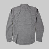Five Day Wool / Cotton Button Up - Charcoal