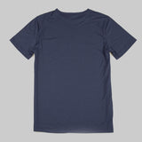 Merino Wool Tee - Navy Short Sleeve Merino Tee- Parker Dusseau : Functional Menswear Essentials for the Always Ready Lifestyle. Based in San Francisco, California
