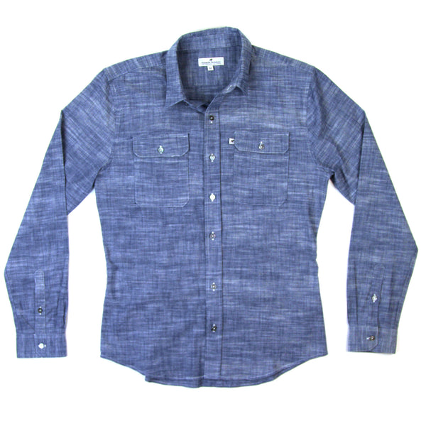 Classic Work Shirt - Indigo Chambray